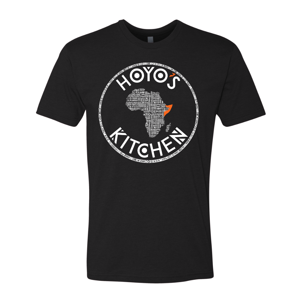 Hoyo's Kitchen BLACK Premium CVC Crew T-Shirt