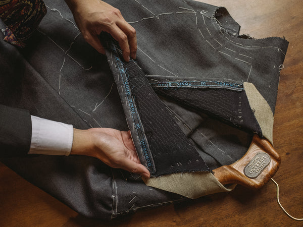 The Journey of a Bespoke Suit by Liverano & Liverano Sartoria