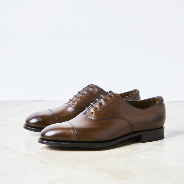 Dark Oak Antique Oxford Shoes
