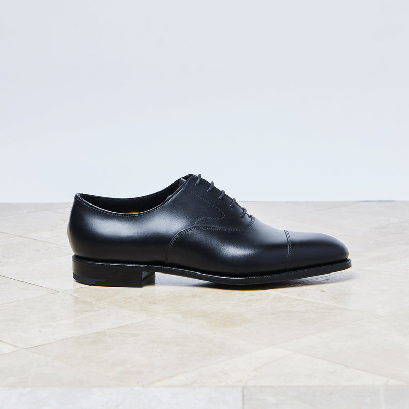 'Chelsea' Black calf oxford
