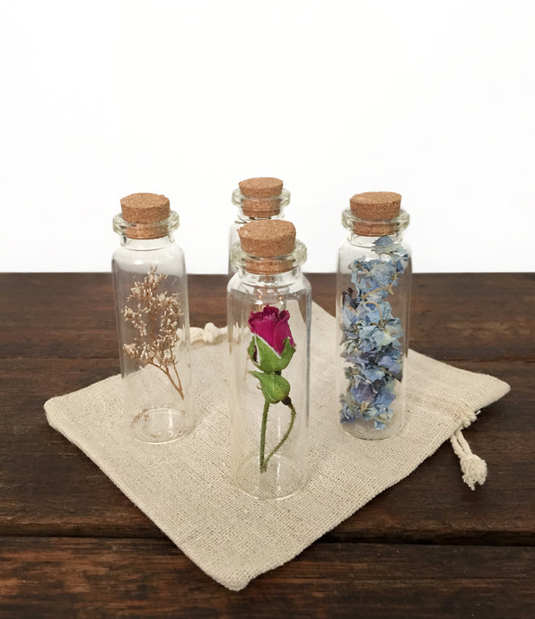 Dried Flower Vases (Set of 4)