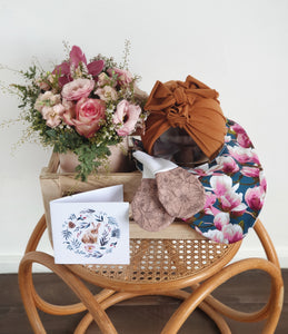 Newborn Crate with Pinks
