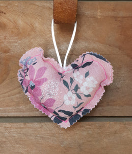 Hand Made Fabric Heart