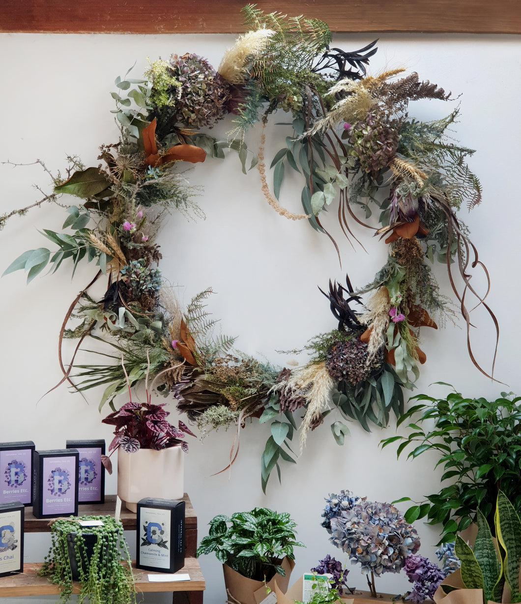 Extra Large Dried Wreath (Made-to-order)