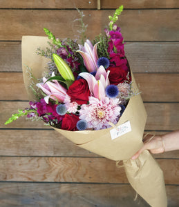 Large Pink + Red Bouquet