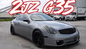 The Perfect G35?! - 2JZ Swap Infiniti Coupe!