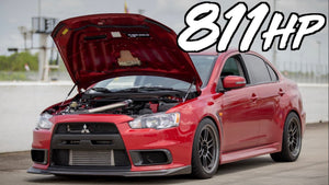 811HP Evo X DOMINATES the Competition!