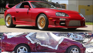 $5K Wrecked Supra Amazing Restoration - 1000+HP Rebuild!