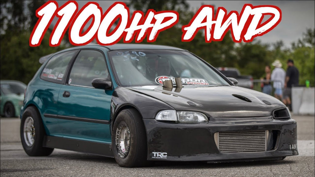 1100HP AWD Honda Civic! - Frustrate EG