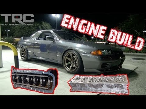 1000+HP RB30 R32 GTR Project - RB30 Engine Assembly EPS 8