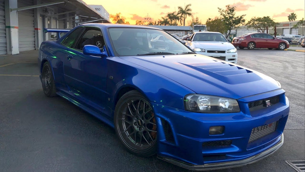 RAREST Skyline R34 GTR's in the World?! 6K Miles on the Clock!