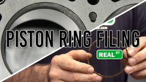 Race Engine Piston Ring Filing Tutorial - Jay's Tech Tip
