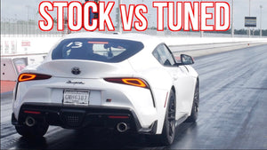 Quickest 2020 Toyota Supra - Tuned vs Stock MKV Supra Drag Race!
