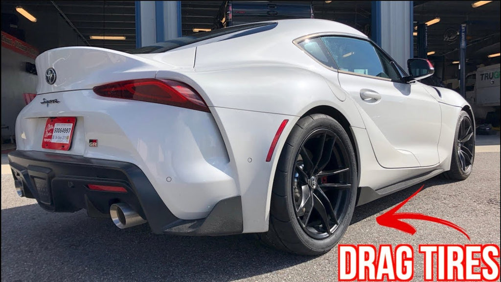 2020 Toyota Supra FIRST Modification 1/4 Mile Test - Supra Needs More HP!