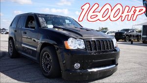 1600HP AWD Jeep goes 197mph! - Worlds Fastest Jeep SRT8