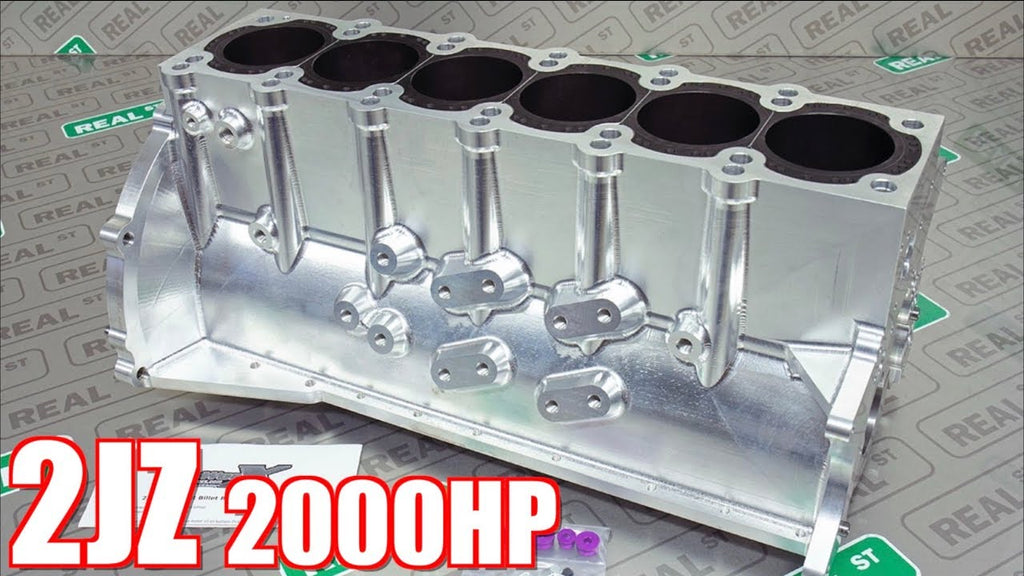 2000HP Supra Billet 2JZ Engine Build - Bulletproof 2JZ for Streetable Supra!