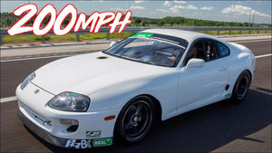Fastest Street Supra on the Planet - 200mph in 6 Seconds!