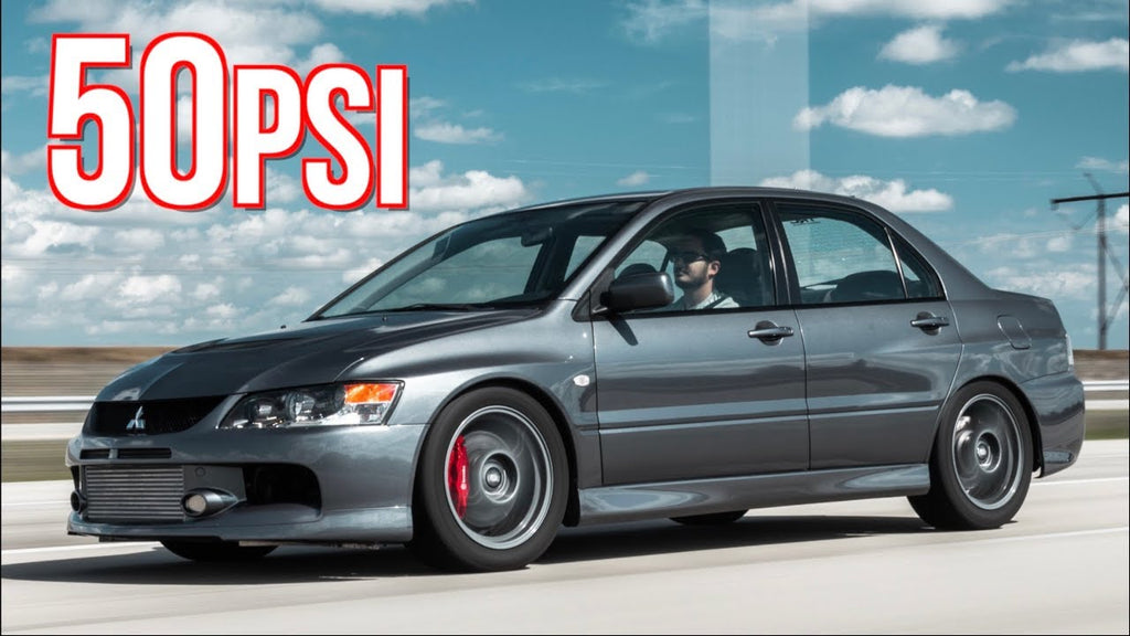 1100HP Sequential Evo IX 50PSI Race Pulls - 10 Years on Original Built Engine!