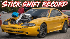 1500HP Mustang sets RWD Stick Shift World Record!