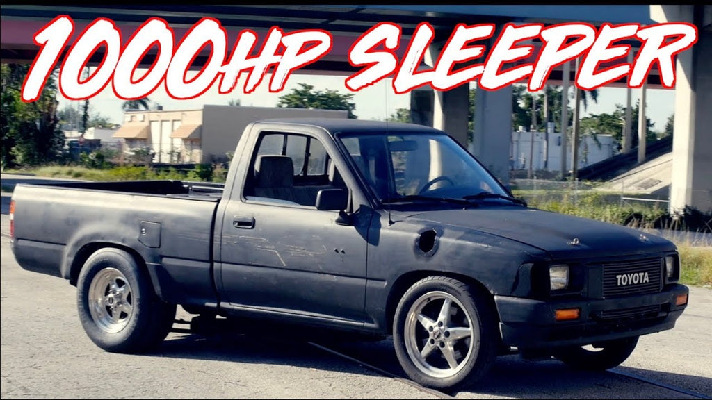 1000HP Sleeper Toyota Pickup Truck - He Bought it for $800!!