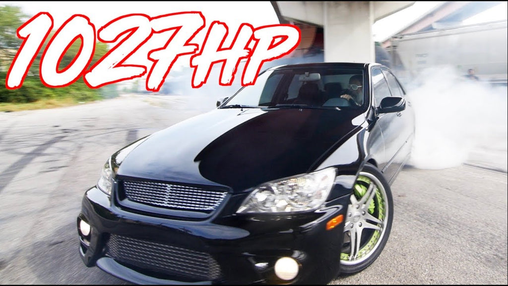 "1027HP Sleeper Lexus IS300 ""The Jet"" - The Perfect Street Lexus!"