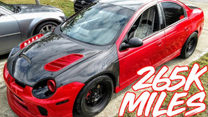 "500HP Dodge SRT4 265K Miles & 500 Drag Passes! - ""The Red Rocket"""