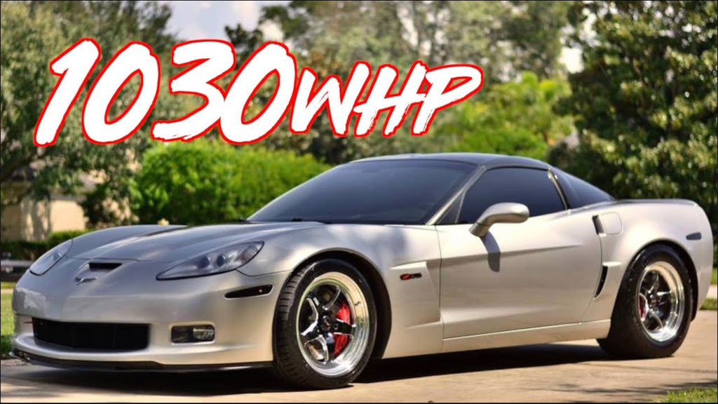 1030HP Turbo Corvette Z06 on Factory Stock Rods!