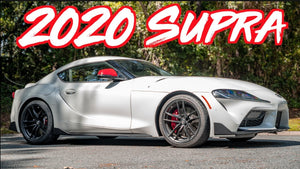 2020 Toyota Supra Delivery - Road Trip Straight to Dragstrip!