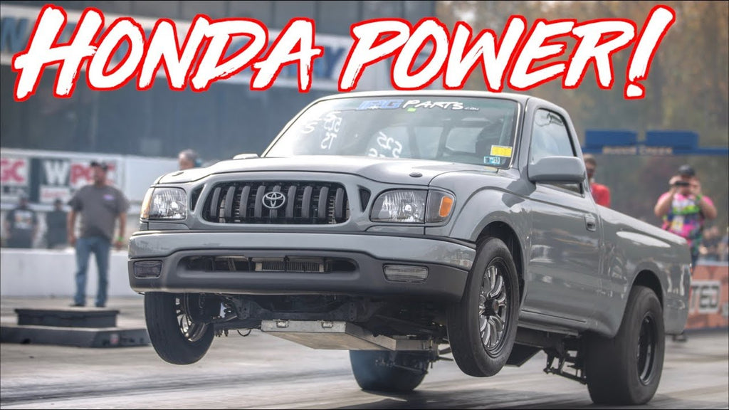 K24 Swap Toyota Tacoma Truck Beats Everyone - Wins $5000!