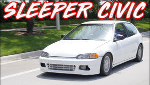 500HP Sleeper Civic Smokes Supercar on the Street! - $5000 Budget Build