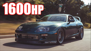 1600HP Supra $15,000 Race - 2JZ Underdog Upsets Domestic LS V8's!