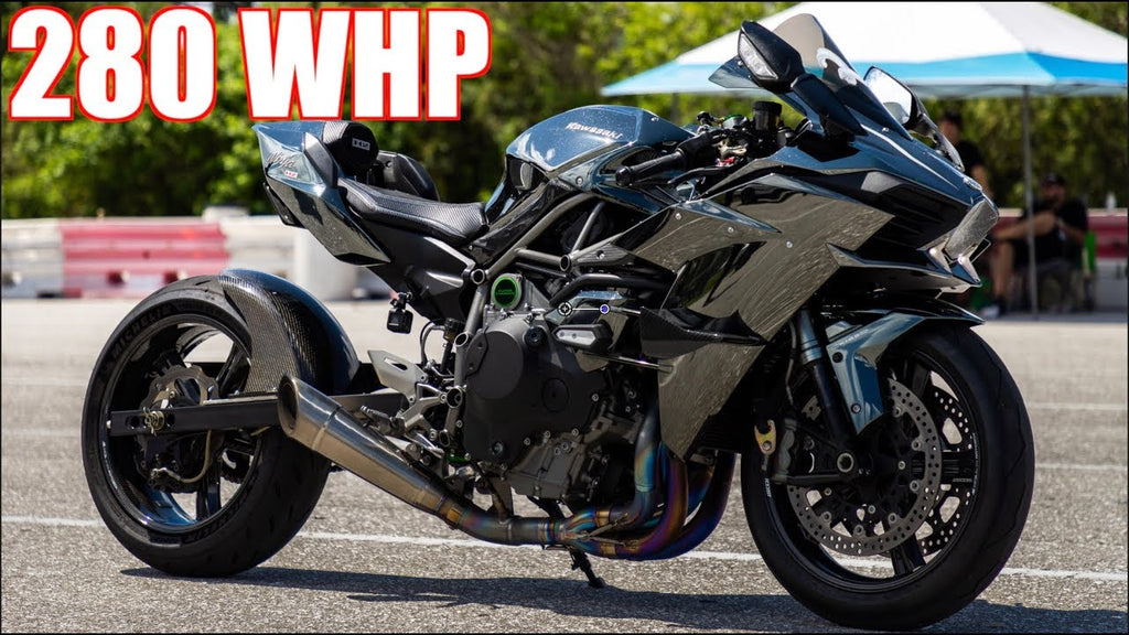 280HP Ninja H2 WALKS 1100HP Sequential Evo IX | 10,000RPM + 55PSI Acceleration!