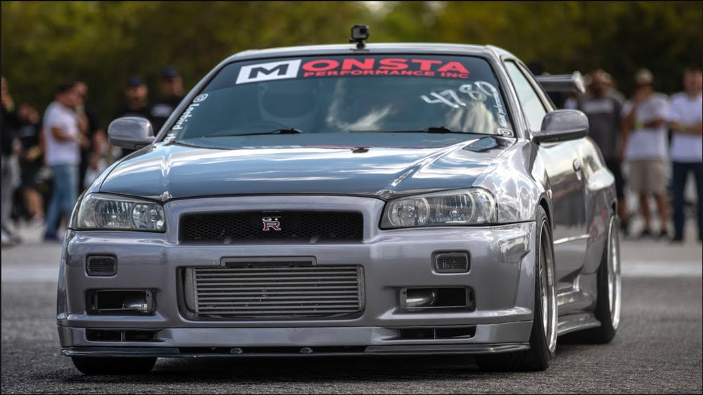 RB30 Skyline R34 on 30PSI - Drives 200 miles and Runs it HARD!