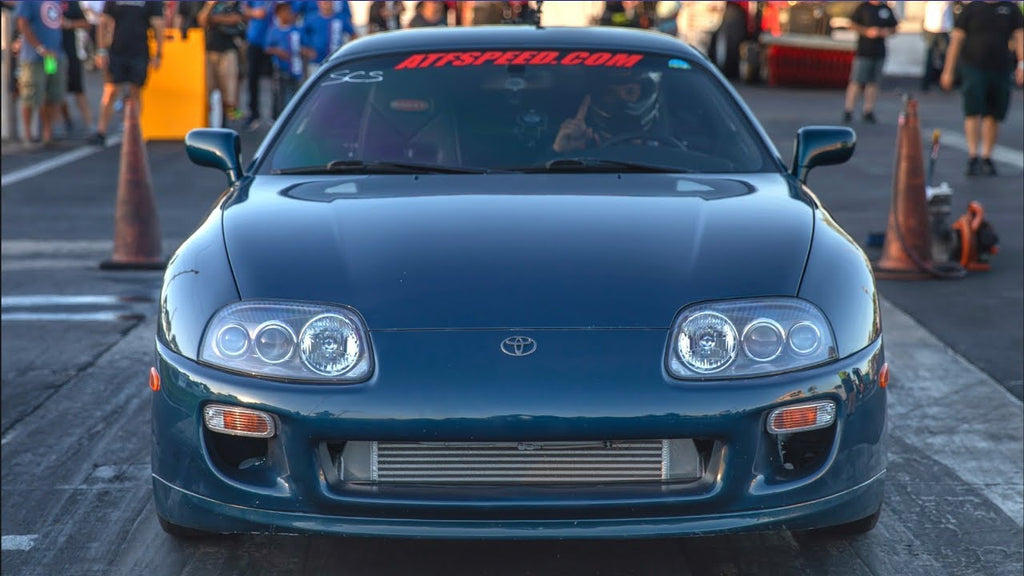 1500HP Baltic Supra on 60PSI Drives 1000 Miles Racing - Worlds Fastest Factory Toyota Trans!