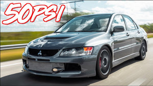 1100HP Sequential Evo IX 50PSI on Pump E85! - Race Prep Underway!