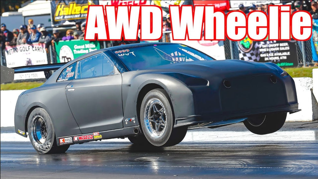 2300HP GTR AWD Wheelie Pulls 3.5G! (G-Force) | 0-60MPH 1.2s | 0-210MPH in 6seconds