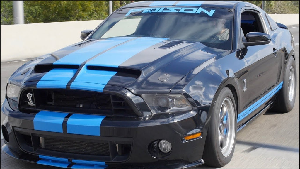 ROWDY Shelby GT500 SMOKES Supercar on the Street!