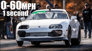 2000HP Supra 0-60MPH in 1 Second! | 210MPH in 6 Seconds - Billet 2JZ