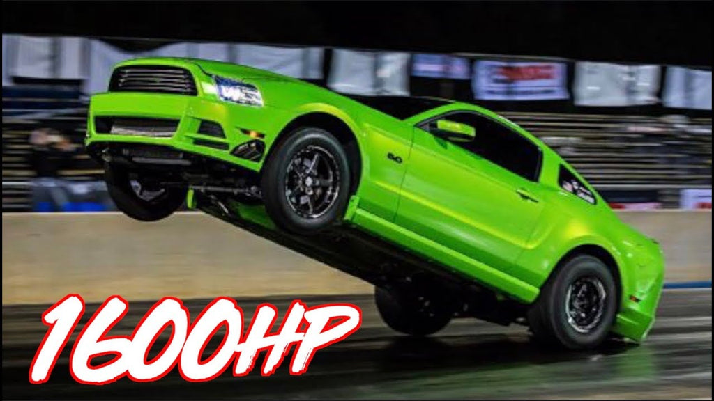 "1675HP Coyote Mustang ""The Snot Rocket"" - Drag and Roll Race Champion!"