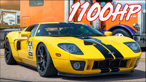 1100HP Ford GT Twin Turbo Ride Along - The Greatest Ford Ever Produced?