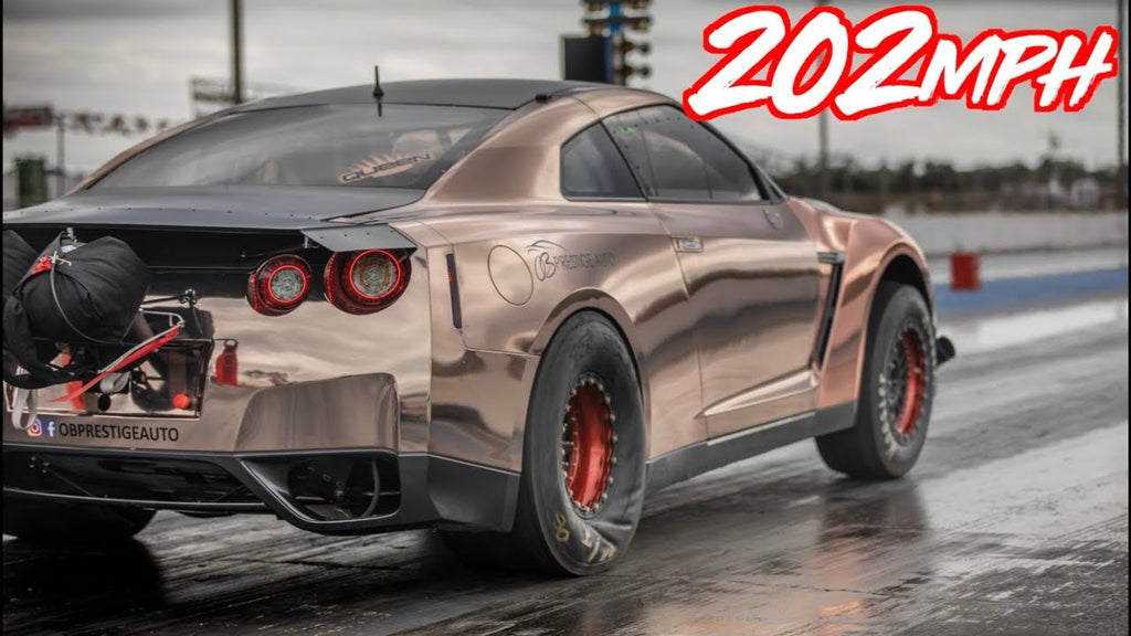 202mph in 7 Seconds! - 3000+HP Alpha Queen GTR