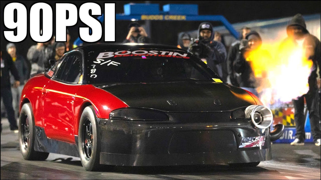 90PSI of BOOST! Red Demon 1800HP 4cyl | Quickest Manual AWD Ever | Battle for 6s Continues