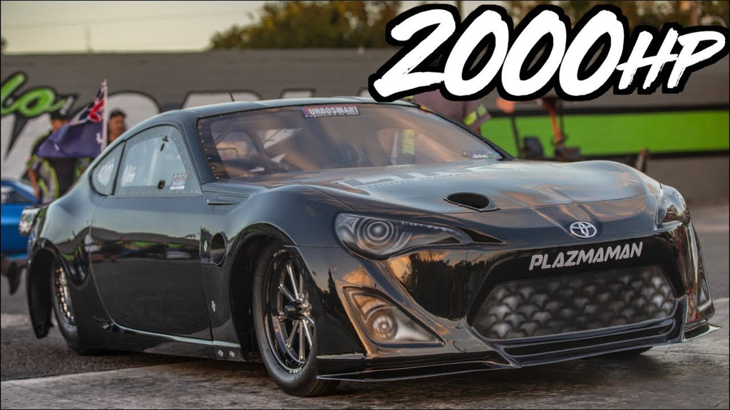 Girl Pilots 2000HP 86 Worlds Fastest & Quickest Import on Drag Radials