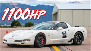 "Kyle's 1100HP ""Unicorn"" Corvette Z06 - 1320 Video Feature"
