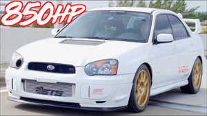 """2JZ Subaru Killer"" - 850HP Subaru STI on 42psi of BOOST!"