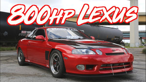 "800HP Lexus Japanese V8 - Turbo SC400 ""The Domestic Killer"""
