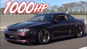 Adam LZ's 1000HP Sequential Nissan S15 - 3.4L 2JZ Swap