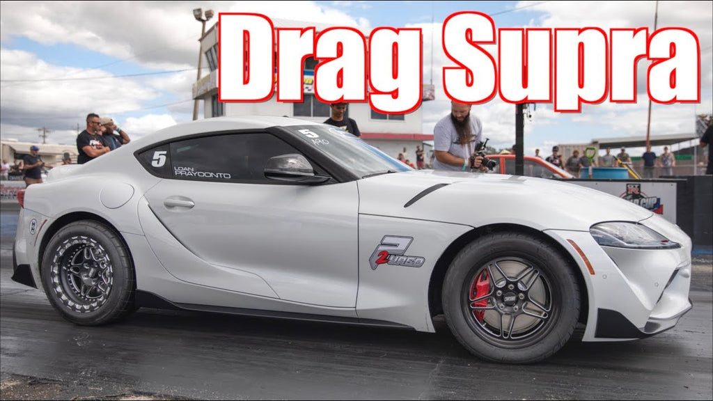 2020 Supra on Drag Wheels Looks Amazing - The Most 2020 Supras We've Ever Seen!