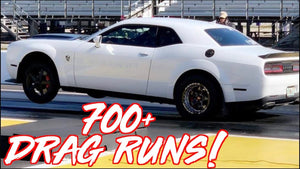 1000HP Dodge Demon FROM HELL! - 700+ DRAG RUNS