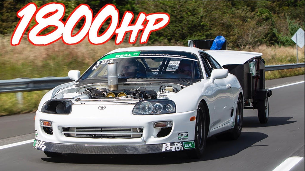 1800HP Supra 1000 Mile Road Trip - Fastest Import to Ever Complete Drag Week!